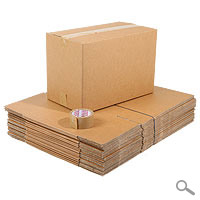 20 Removal boxes, Tape, Pen Pack