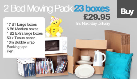 2 bed moving pack £30.00